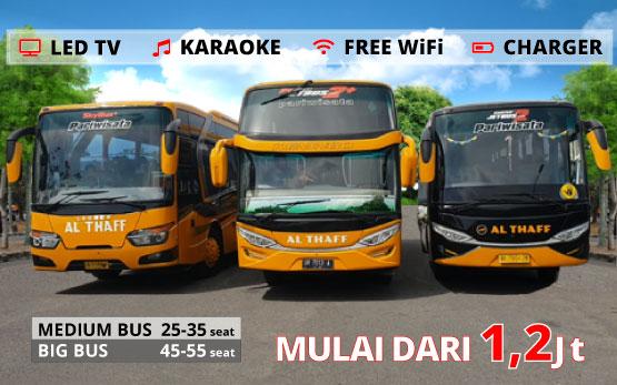 rental bus di lombok